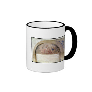 Tympanum depicting the Virgin of Humility Ringer Mug
