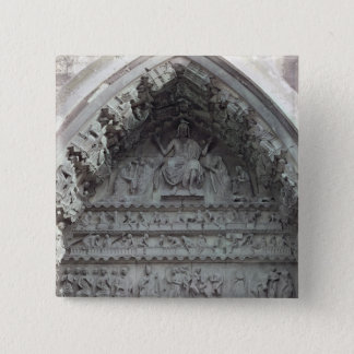 Tympanum from the left portal button