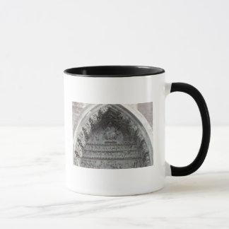 Tympanum from the left portal mug