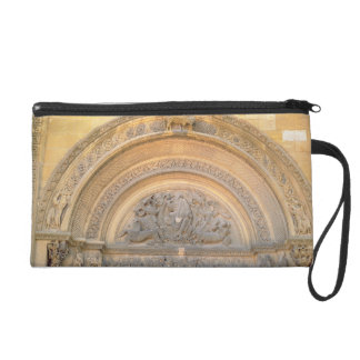 Tympanum of the porch depicting Christ in Majesty Wristlet Clutches