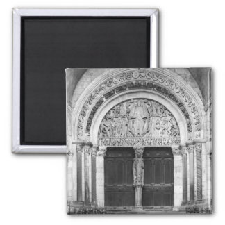 Tympanum with the Last Judgement 2 Inch Square Magnet