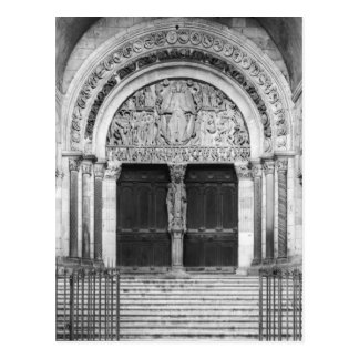 Tympanum with the Last Judgement Postcard