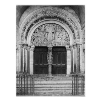 Tympanum with the Last Judgement Poster