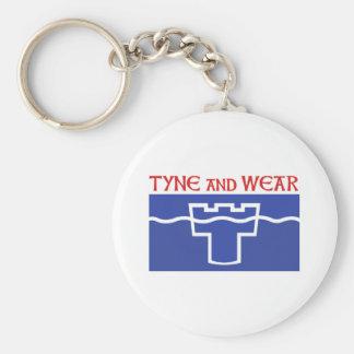 Tyne and Wear Key Chain