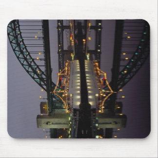 Tyne Bridge and Tuxedo Royale floating night club Mousepad