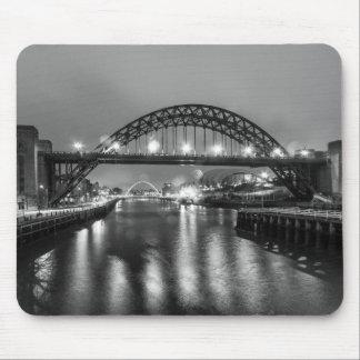Tyne Bridge at night Mouse Pad
