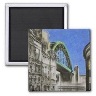 Tyne Bridge, England Magnet