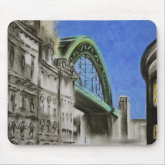 Tyne Bridge, England Mousepad