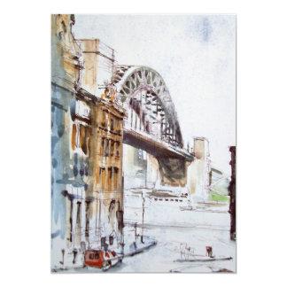 Tyne Bridge from Dean Street Invitation