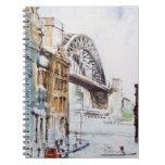 Tyne Bridge from Dean  Street Notebook