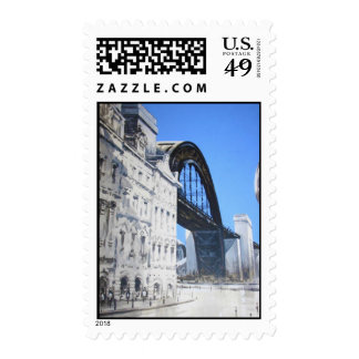 Tyne Bridge from Dean  Street Postage Stamps
