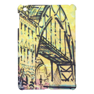 Tyne Bridge from Dene Street iPad Mini Covers