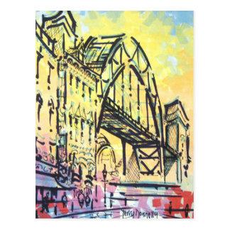Tyne Bridge from Dene Street Postcard