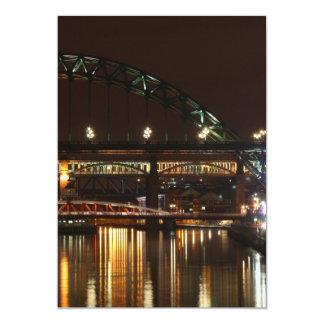 "Tyne Bridge Invitation 5"" X 7"" Invitation Card"