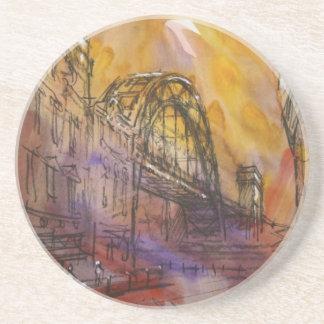 Tyne Bridge Newcastle Coaster