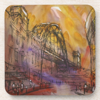 Tyne Bridge Newcastle Cork Coasters