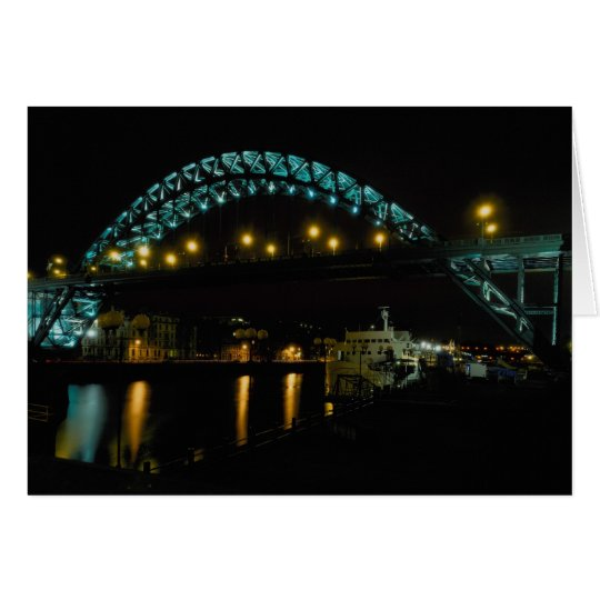 Tyne Bridge, Newcastle, England Card