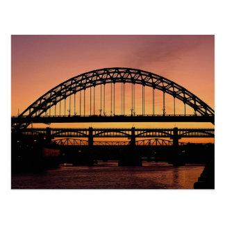 Tyne Bridge, Newcastle, England Postcard