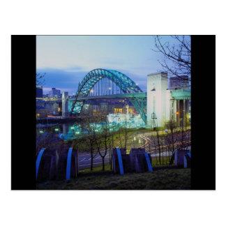 Tyne Bridge, Newcastle-Upon-Tyne, England Postcard