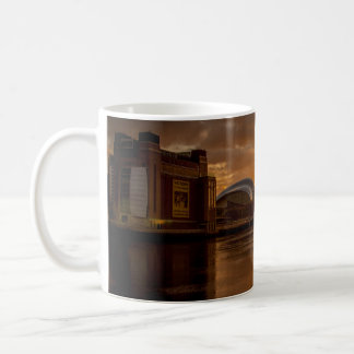 Tyne Bridges at Sunset Coffee Mug