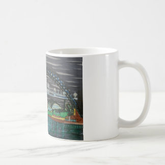 Tyne Quayside at night Coffee Mug