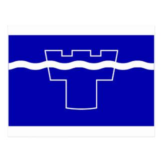 Tyne y bandera del desgaste postales