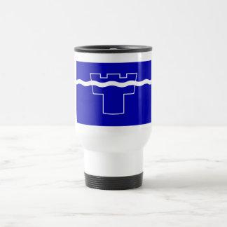 Tyne y bandera del desgaste tazas de café
