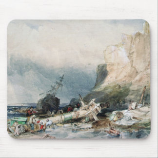 Tynemouth Castle, Tyne and Wear, with Wreck Mouse Pad