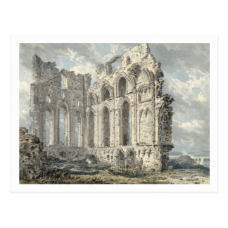 Tynemouth Priory, Northumberland, c.1792-93 (w/c o Post Cards