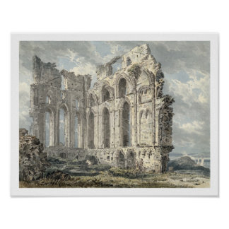 Tynemouth Priory, Northumberland, c.1792-93 (w/c o Poster