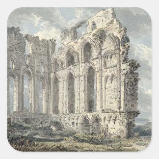 Tynemouth Priory, Northumberland, c.1792-93 (w/c o Square Sticker