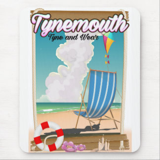 Tynemouth Tyne and Wear, Travel poster Mouse Pad