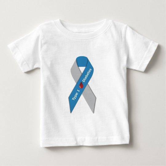 Type 1 Diabetes Awareness Ribbon Baby T-Shirt