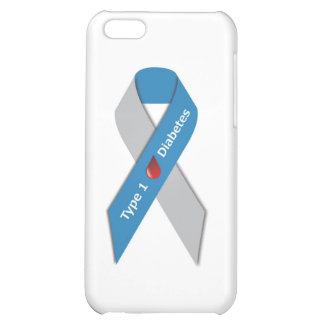 Type 1 Diabetes Awareness Ribbon iPhone 5C Cover