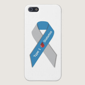 Type 1 Diabetes Awareness Ribbon iPhone SE/5/5s Case