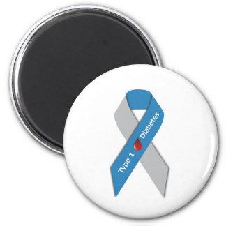 Type 1 Diabetes Awareness Ribbon Refrigerator Magnets