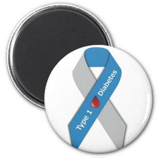Type 1 Diabetes Awareness Ribbon Refrigerator Magnet
