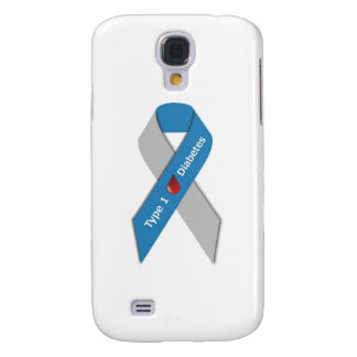 Type 1 Diabetes Awareness Ribbon Samsung S4 Case
