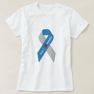 Type 1 Diabetes Awareness Ribbon T-shirts