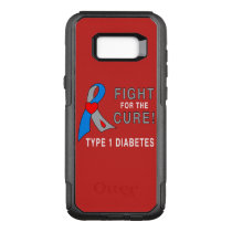 Type 1 Diabetes Fight for the Cure OtterBox Commuter Samsung Galaxy S8  Case