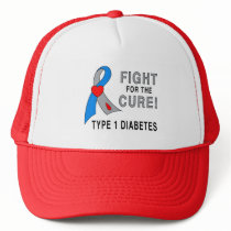 Type 1 Diabetes Fight for the Cure Trucker Hat