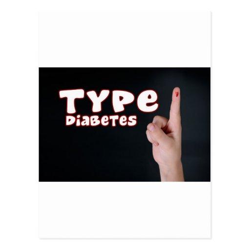 Type 1 Diabetes Post Cards