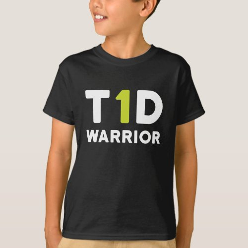 type 1 diabetes warrior _ t1d diabetic shirt kids