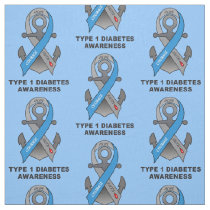 Type 1 Diabetes with Anchor of Hope Fabric