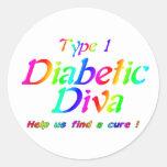 Type 1 Rainbow Sticker
