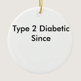 Type 2 Diabetic Ornament