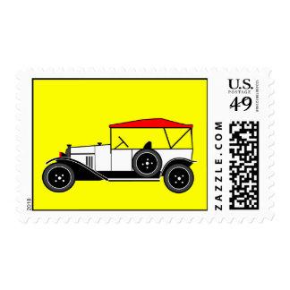 Type A Torpédo - Citroën 1919 Stamps