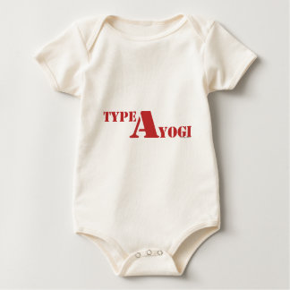 Type A Yogi gear Baby Bodysuit