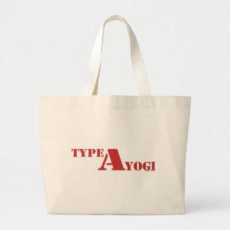 Type A Yogi gear Canvas Bag