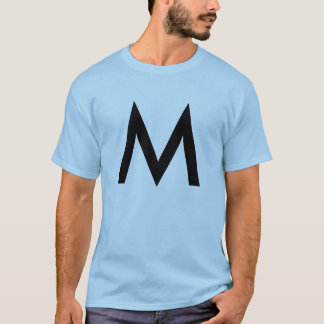Type | Black Graphic Design T-Shirt